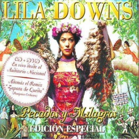 LILA DOWNS CD+DVD Pecados Y Milagros En Vivo Auditorio Nacional