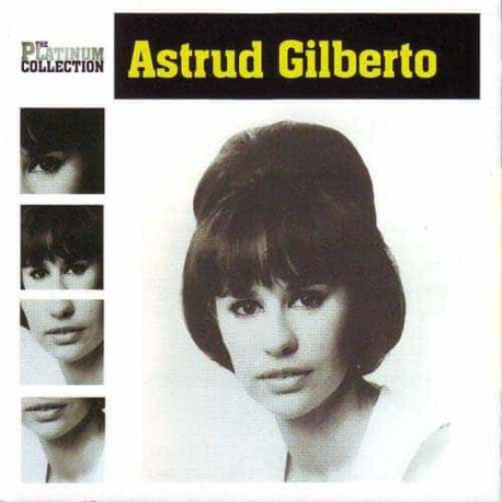 ASTRUD GILBERTO CD The Platinum Collection
