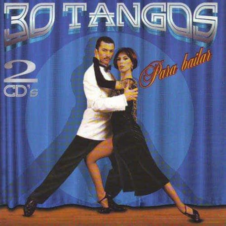 30 TANGOS PARA BAILAR Y CANTAR 2CD Parentella & Orq Tipica Bs As