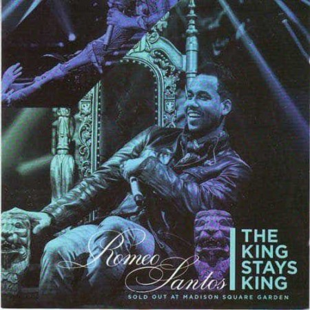 ROMEO SANTOS CD+DVD The King Stays King Sold Out At Madison Squ