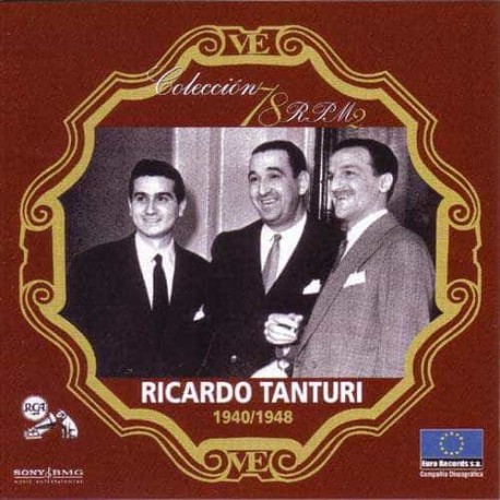 RICARDO TANTURI CD Coleccion 78 RPM 1940 - 1948