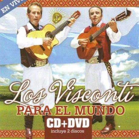 LOS VISCONTI CD+DVD Los Visconti Para El Mundo En Vivo
