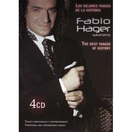 FABIO HAGER SEXTETO 4CD Tradicional And Comtemporary Tangos