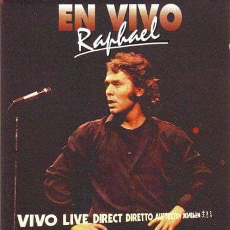 RAPHAEL CD En Vivo Live Direct Diretto Auftreten