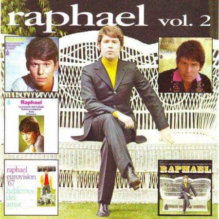 RAPHAEL CD Los EPs Originales Vol 2