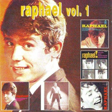 RAPHAEL CD Los EPs Originales Vol 1