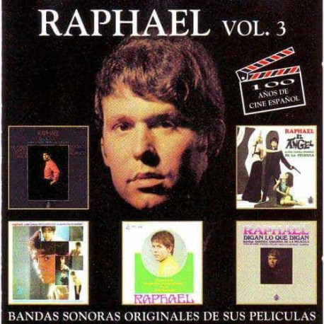 RAPHAEL CD Los EPs Originales Vol 3