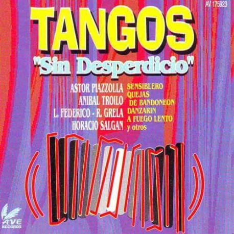 TANGOS SIN DESPERDICIOS CD Tangos Sin Desperdicio