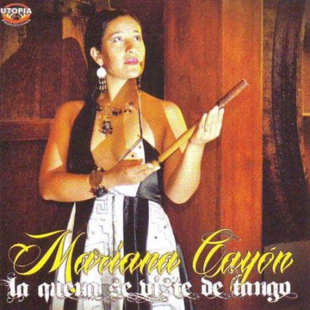 MARIANA CAYON CD La Quena Se Viste De Tango (Flute of the Andes)