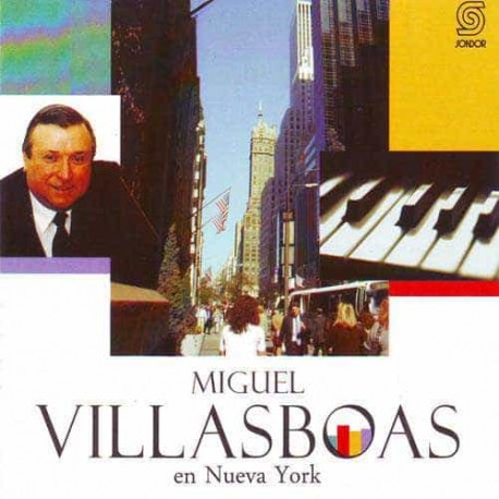 MIGUEL VILLASBOAS CD En Nueva York